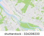vector city map of bremen ... | Shutterstock .eps vector #326208233
