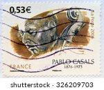 france   circa 2006  a stamp... | Shutterstock . vector #326209703