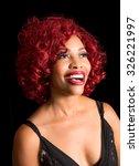 beautiful african american... | Shutterstock . vector #326221997