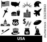 united states of america... | Shutterstock .eps vector #326238863