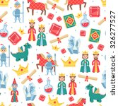 fairytale seamless pattern with ... | Shutterstock .eps vector #326277527