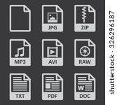 file icons | Shutterstock .eps vector #326296187