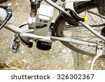 electricity bicycle motor with... | Shutterstock . vector #326302367