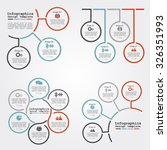 set of infographics report... | Shutterstock .eps vector #326351993