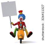 fun clown   Shutterstock . vector #326411327