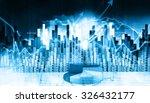 economical stock market graph | Shutterstock . vector #326432177