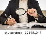 auditor or internal revenue...   Shutterstock . vector #326451047