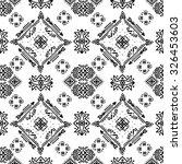 tribal art ethnic seamless... | Shutterstock .eps vector #326453603