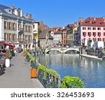 annecy  france   august 22 ... | Shutterstock . vector #326453693