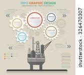 oil industry design info... | Shutterstock .eps vector #326470307