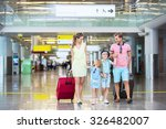 family with children with a... | Shutterstock . vector #326482007