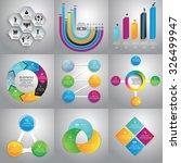 infographics design templates... | Shutterstock .eps vector #326499947
