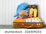 beach cruise. | Shutterstock . vector #326509253
