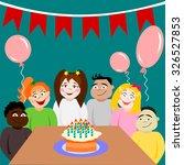 kids of different nationalities ...   Shutterstock .eps vector #326527853