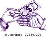 no corruption  sketch | Shutterstock .eps vector #326547203