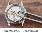 details of watches and... | Shutterstock . vector #326593283