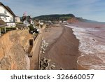 Sidmouth Beach And Seafront...