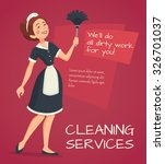 cleaning service advertisement ...