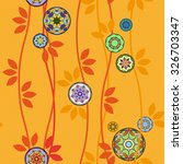 Pattern With Japanese Temari...
