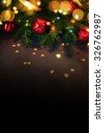 christmas background | Shutterstock . vector #326762987