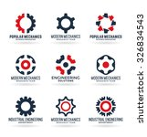 gears  4  | Shutterstock .eps vector #326834543