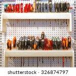 various screwdrivers hand tools ... | Shutterstock . vector #326874797