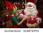 Little Helper Of St. Claus At...