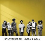 students learning education...   Shutterstock . vector #326911217