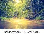 vintage photo of beautiful... | Shutterstock . vector #326917583
