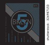 New York Typography  T Shirt...