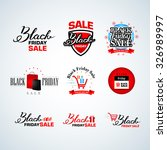 black friday calligraphic... | Shutterstock .eps vector #326989997