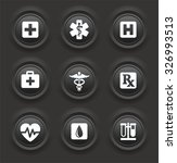 health care and medical symbols ... | Shutterstock .eps vector #326993513