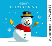 snowman christmas greeting....