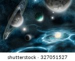 brightness supernova star its... | Shutterstock . vector #327051527