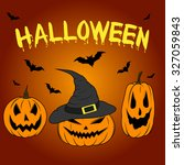 color graphics halloween... | Shutterstock . vector #327059843