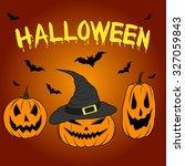 color graphics halloween... | Shutterstock . vector #327059843