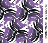 purple floral pattern with... | Shutterstock .eps vector #327139043