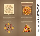 pizza | Shutterstock . vector #327143543