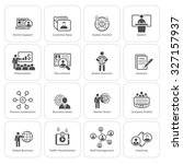 business and finances icons set.... | Shutterstock . vector #327157937