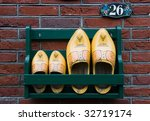 Storage Rack With Wooden Shoes...