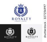 royalty logo  luxury brand logo