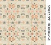 tribal art ethnic seamless... | Shutterstock .eps vector #327265607