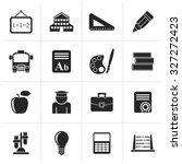 black school and education... | Shutterstock .eps vector #327272423
