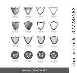 vector company logo icon... | Shutterstock .eps vector #327283583