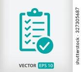 green check list icon vector...