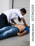 Small photo of basic life support