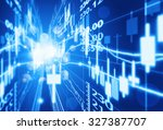 stock market concept and... | Shutterstock . vector #327387707