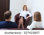 therapist listening her