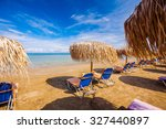 Beautiful Sandy Beach With...