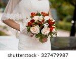 wedding bouquet | Shutterstock . vector #327479987